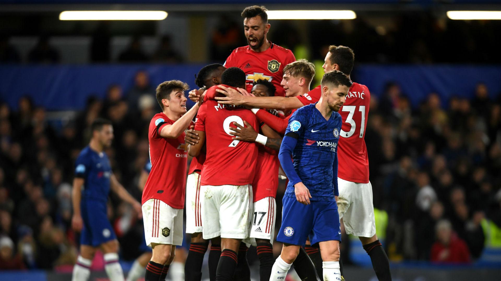 Chelsea V Manchester United Match Report 2 17 20 Premier League Goal Com