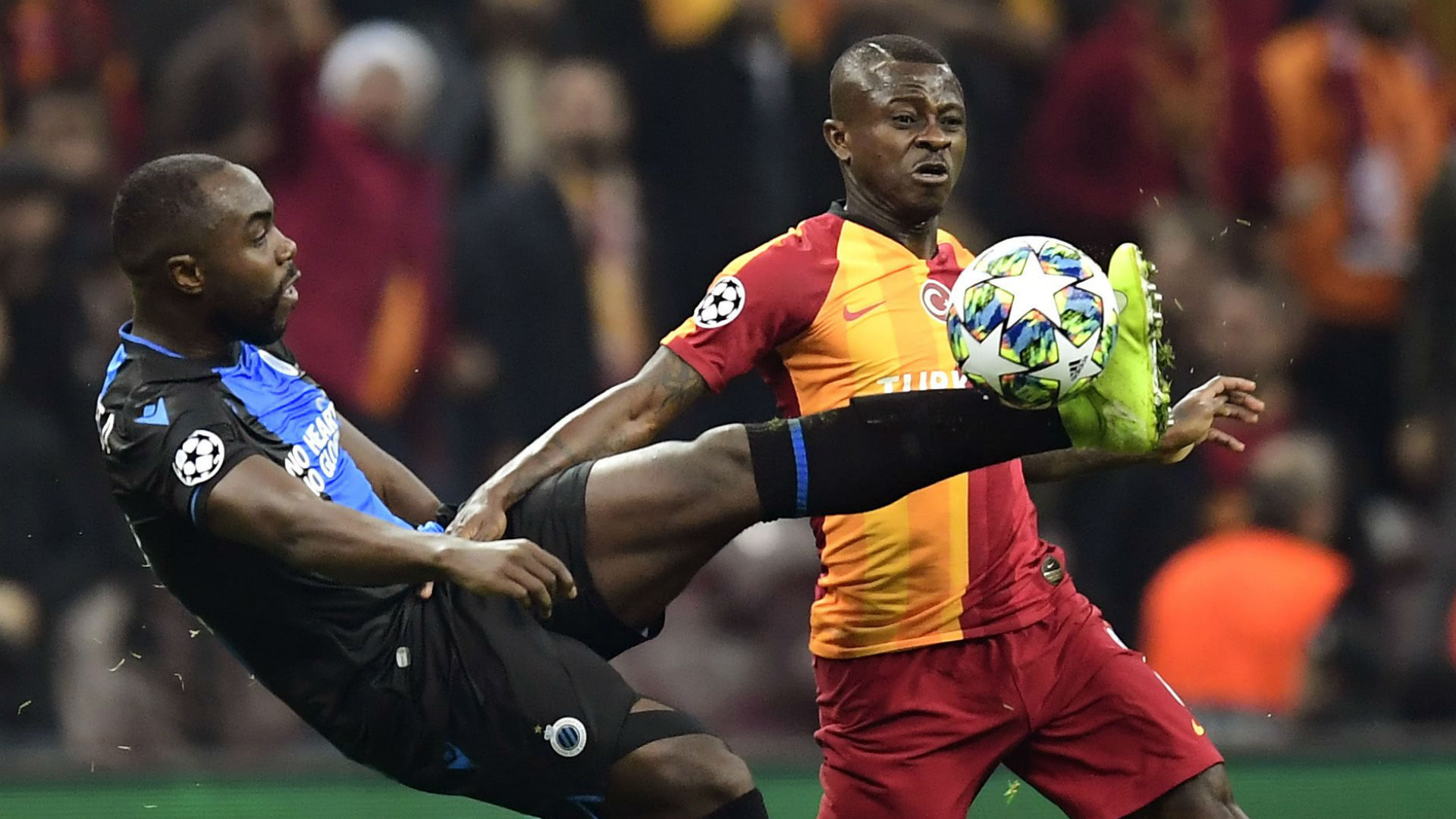 Late equaliser not enough for Club Brugge