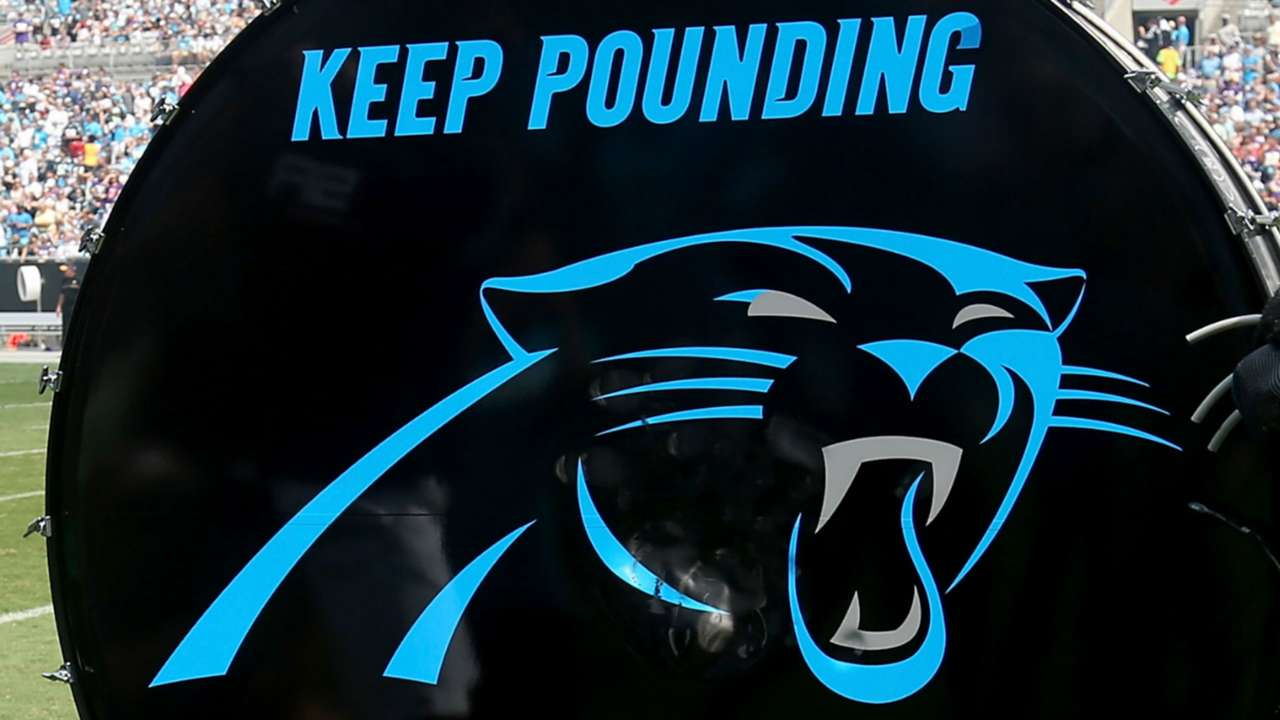 Panthers drum
