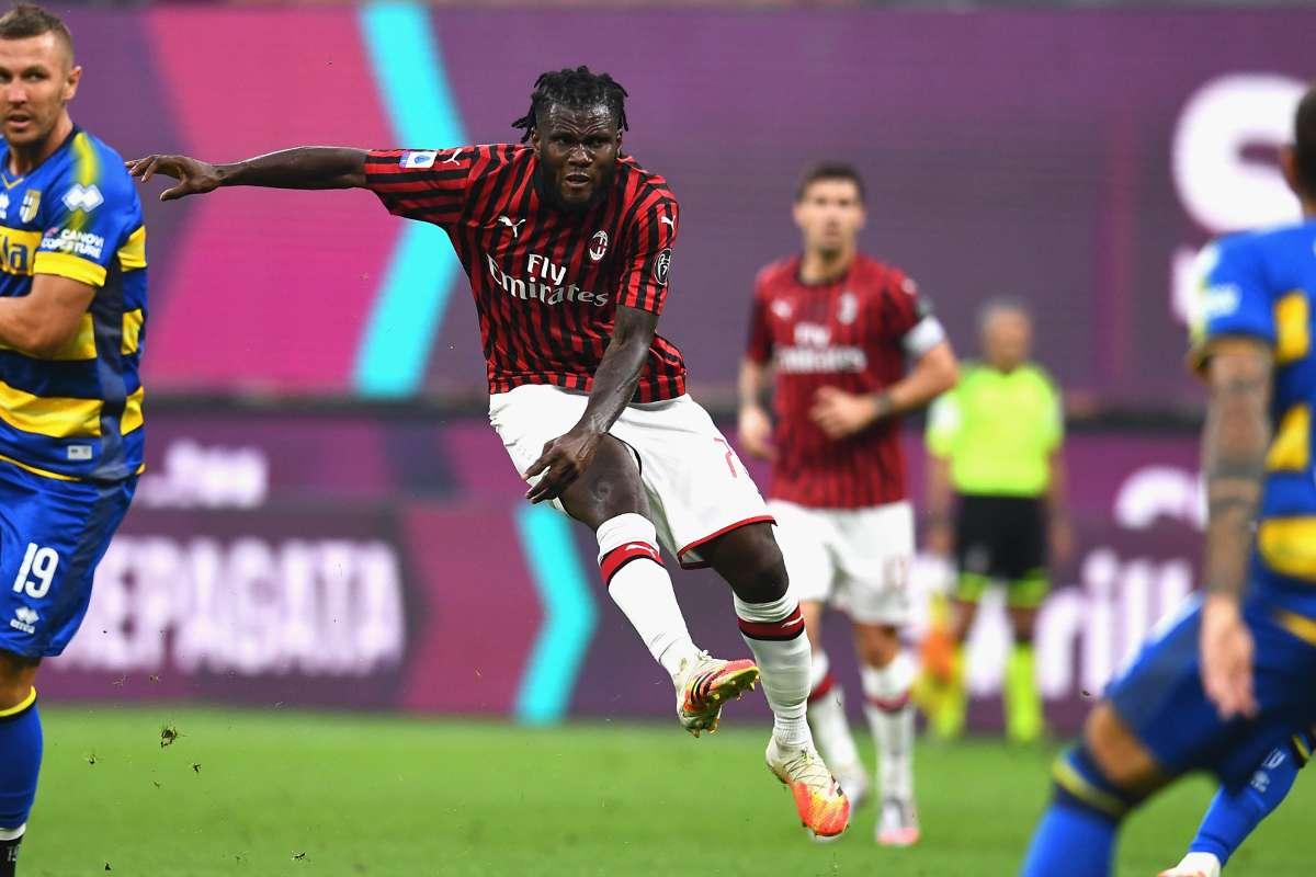 Milan 3-1 Parma: Franck Kessie thunderbolt leads Rossoneri ...
