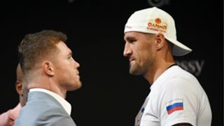 Canelo Alvarez and Sergey Kovalev - cropped