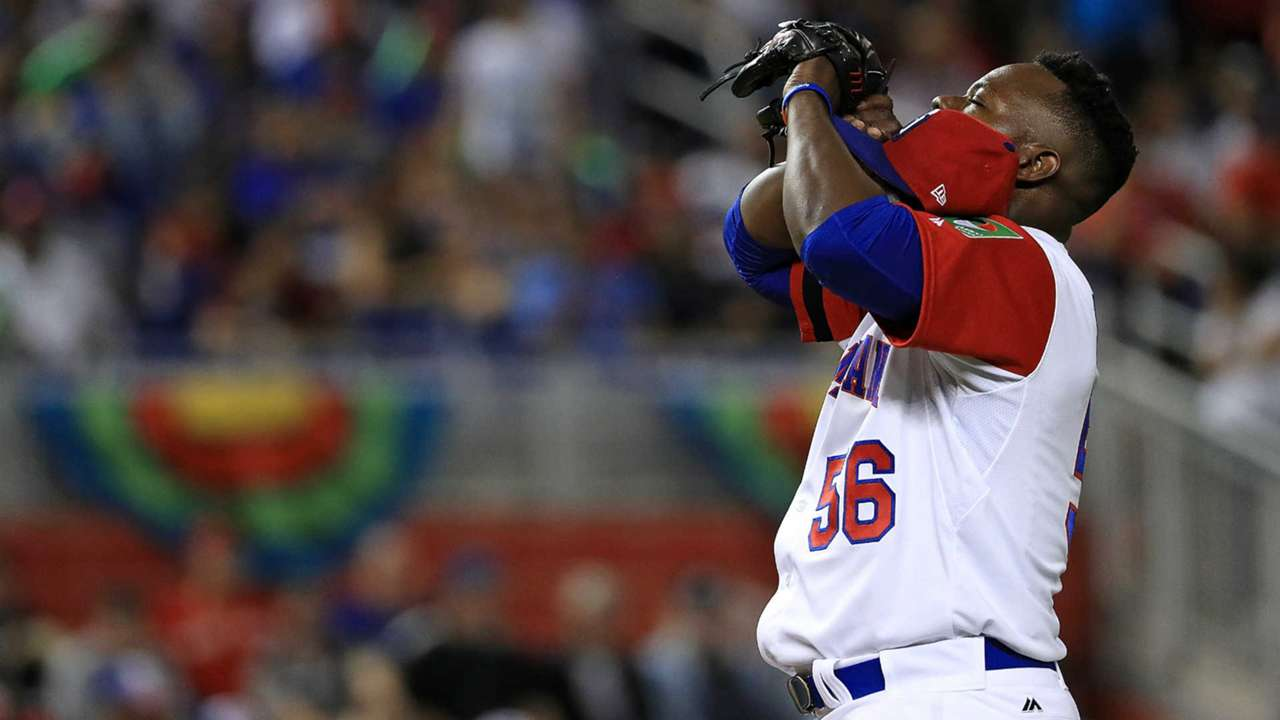 Dominican Republic pitcher Fernando Rodney