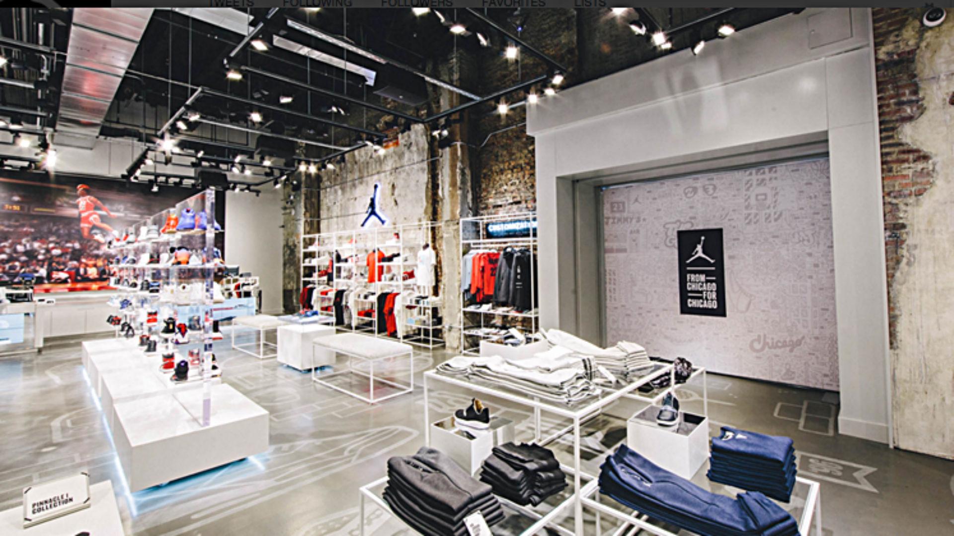 New Jordan Brand store opens in Chicago