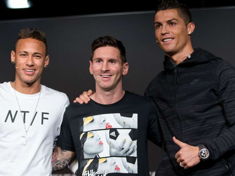 Cristiano Ronaldo Lionel Messi On Forbes Rich List Goal Com