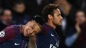 Kylian Mbappe and Neymar