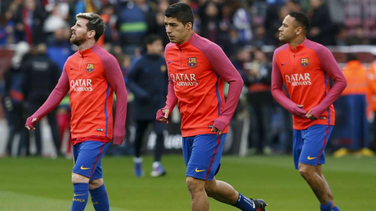 Lionel Messi Luis Suarez Neymar - cropped