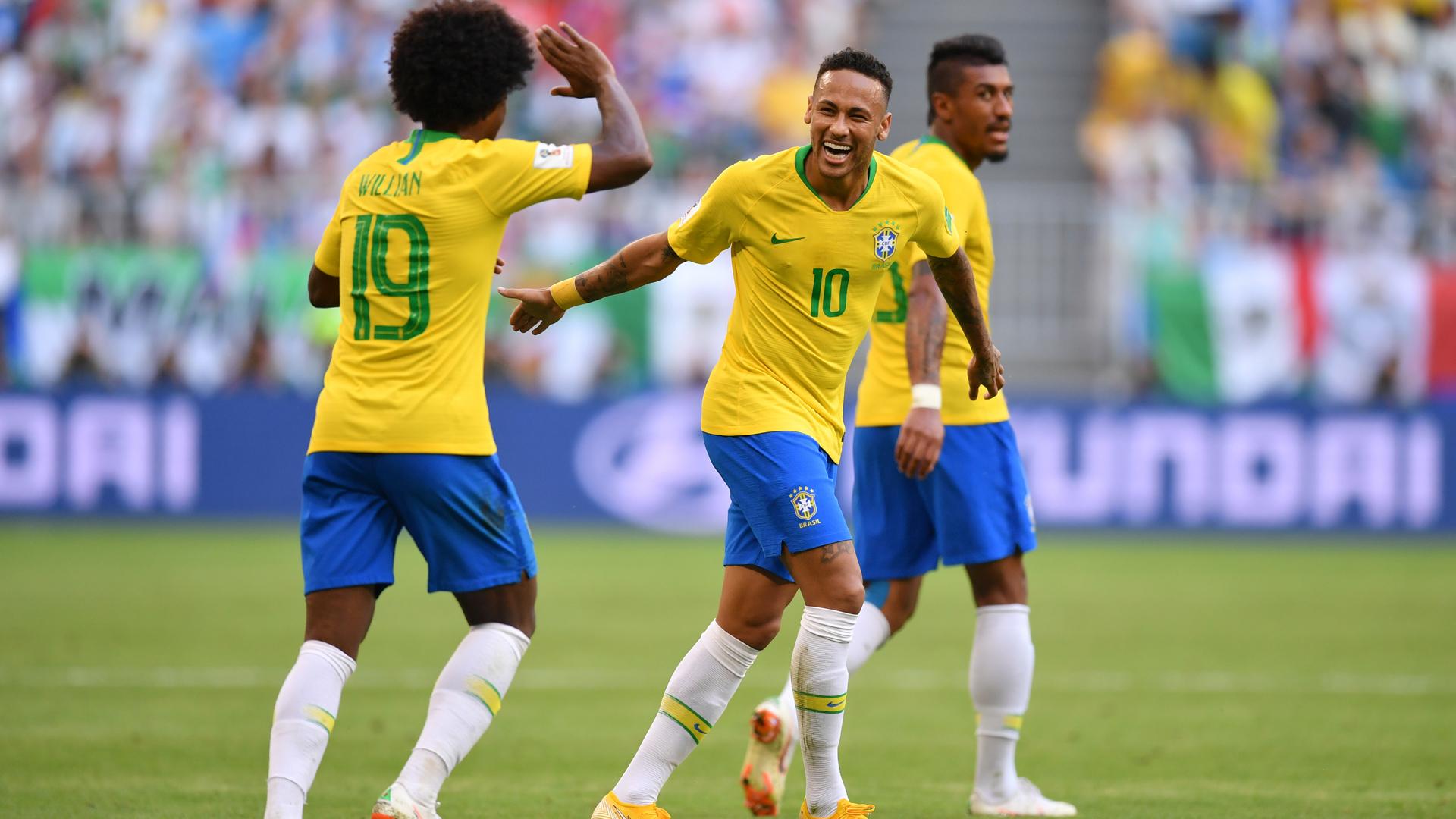Бразильский нападающий виллиан