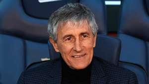 'Marvellous!' - Setien surprised by Barca stars' attitudes to tactical changes