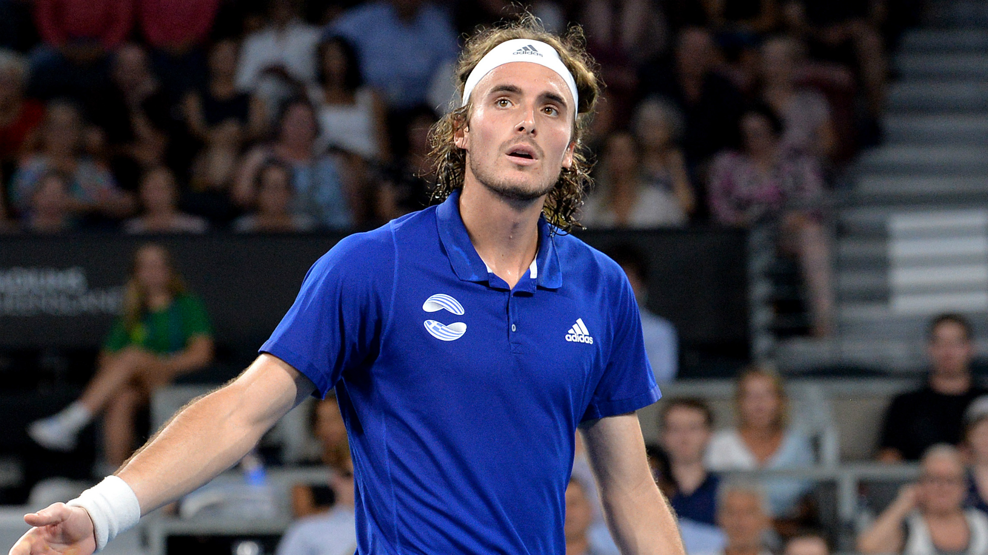 Stefanos Tsitsipas Likely To Be Grounded For Injuring Father In Atp Cup Loss To Nick Kyrgios Sporting News Australia