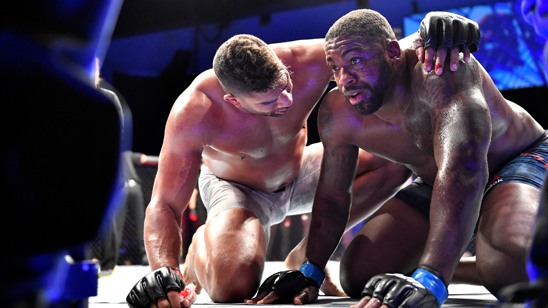 Walt Harris to 'heal emotionally' after losing to Alistair Overeem in UFC return