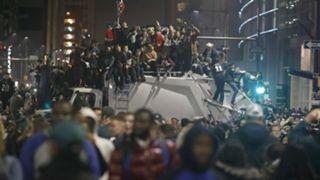 Eagles fans celebrate Super Bowl win