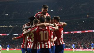 Atletico Madrid players - cropped