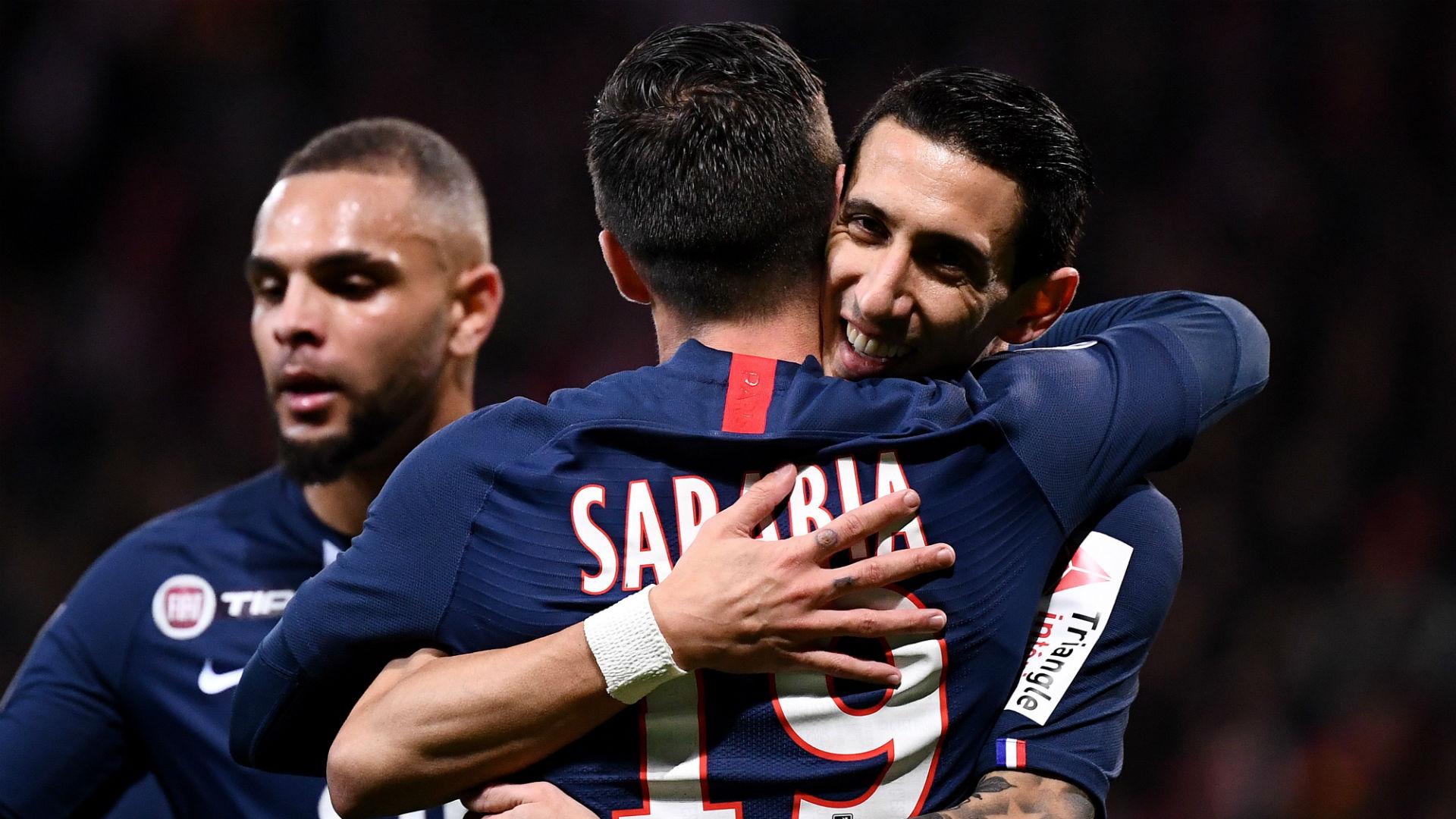Lorient 0-1 Paris Saint-Germain: Late Sarabia header sends PSG into last 16