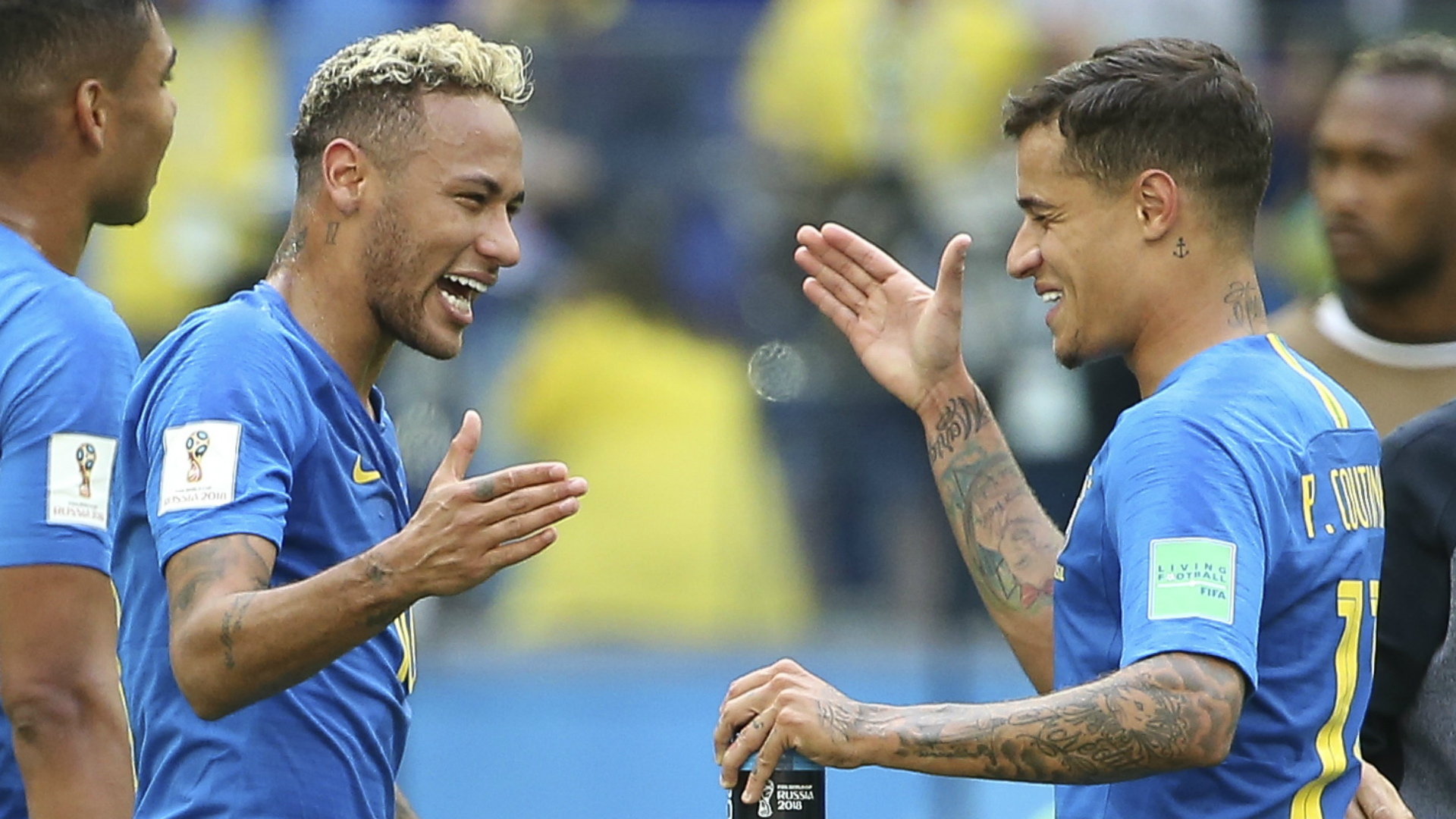 Philippe Coutinho Shining In Neymars Shadow For Brazil At