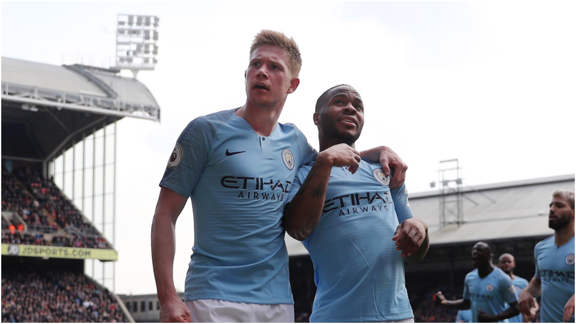 'They'll play for Real Madrid if they want to' - Eriksson still hopes Sterling and De Bruyne commit to Manchester City