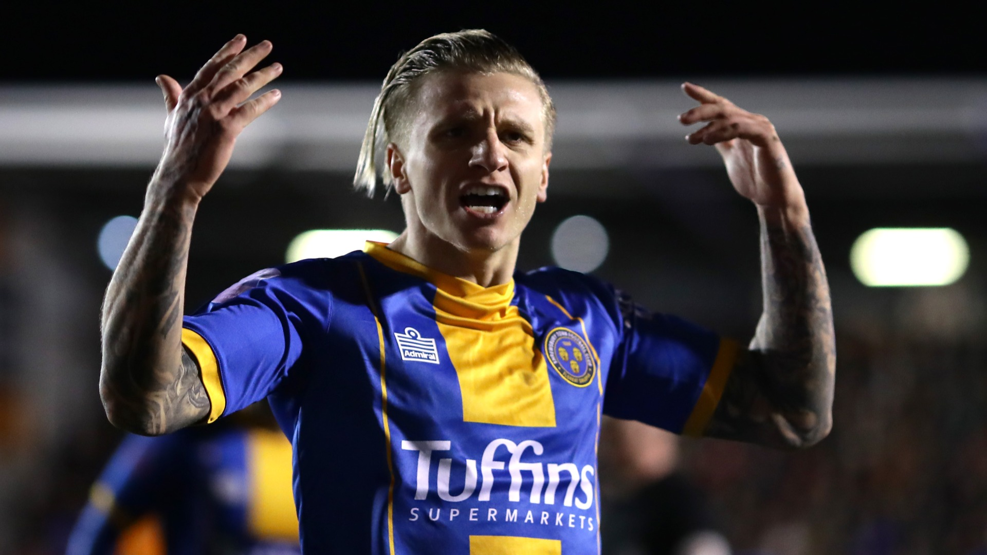 Shrewsbury comeback stuns Liverpool to force replay