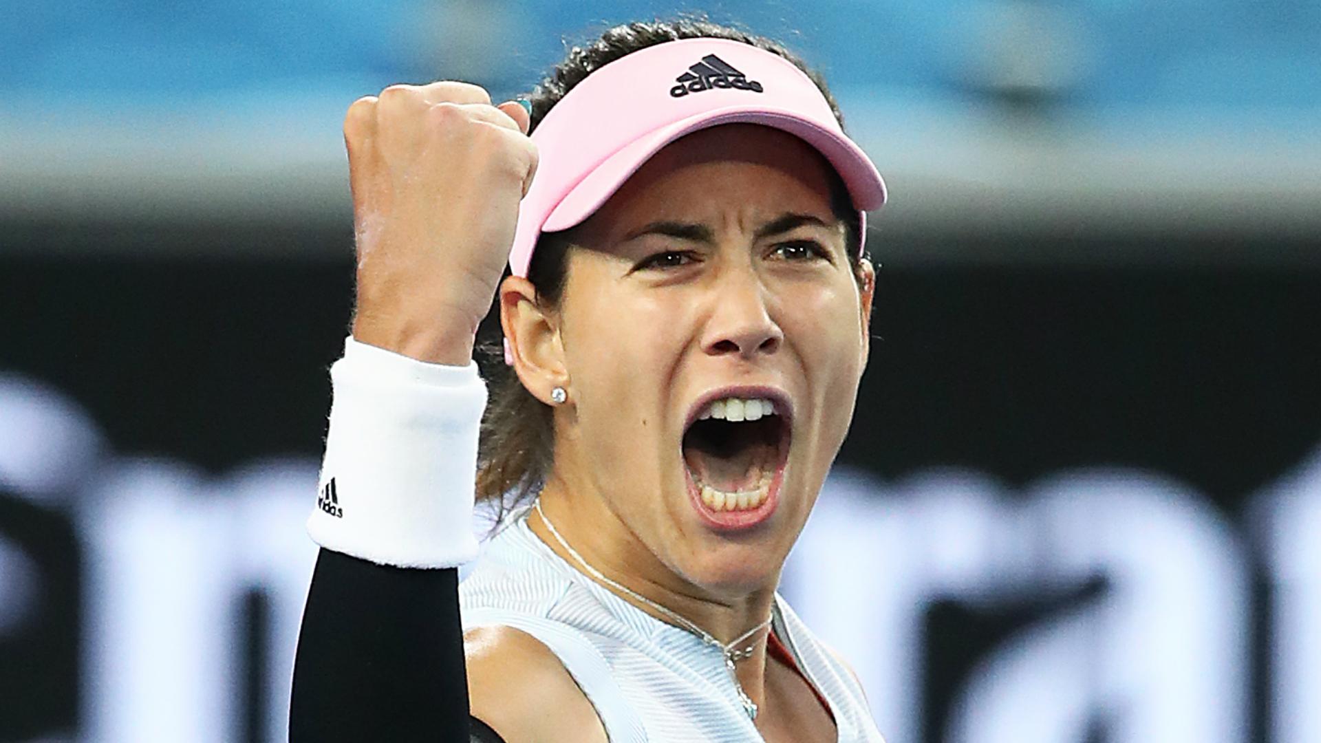 Australian Open: Victoria Azarenka advances, Garbine