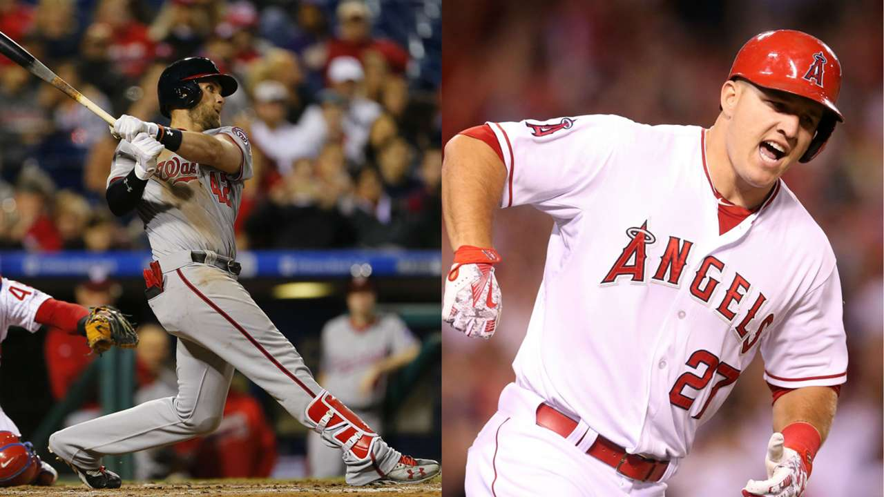 Bryce Harper, Mike Trout