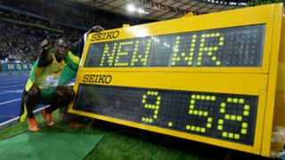 Usain Bolt - world record