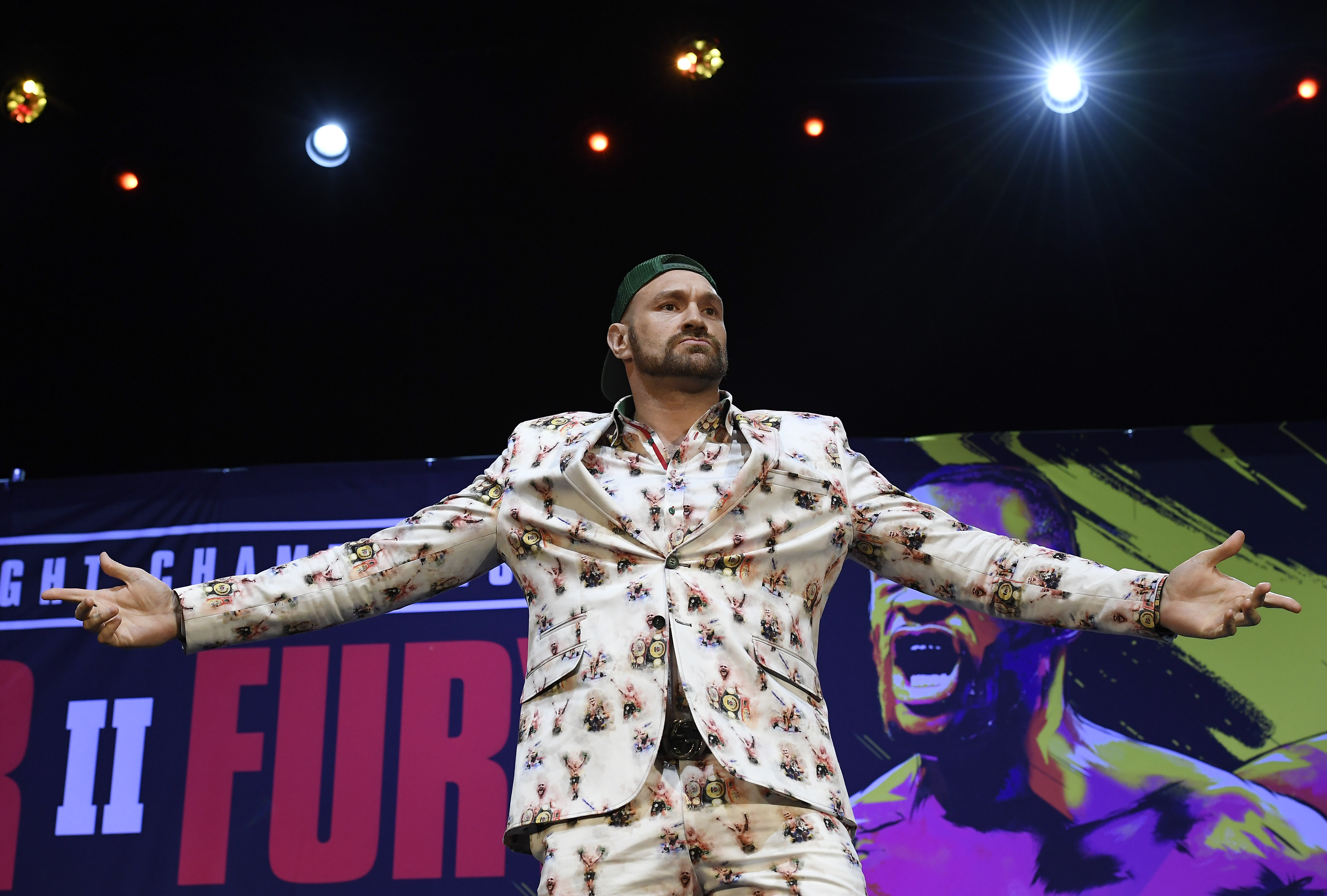 Tyson Fury claims Deontay Wilder is 'running scared' ahead of rematch