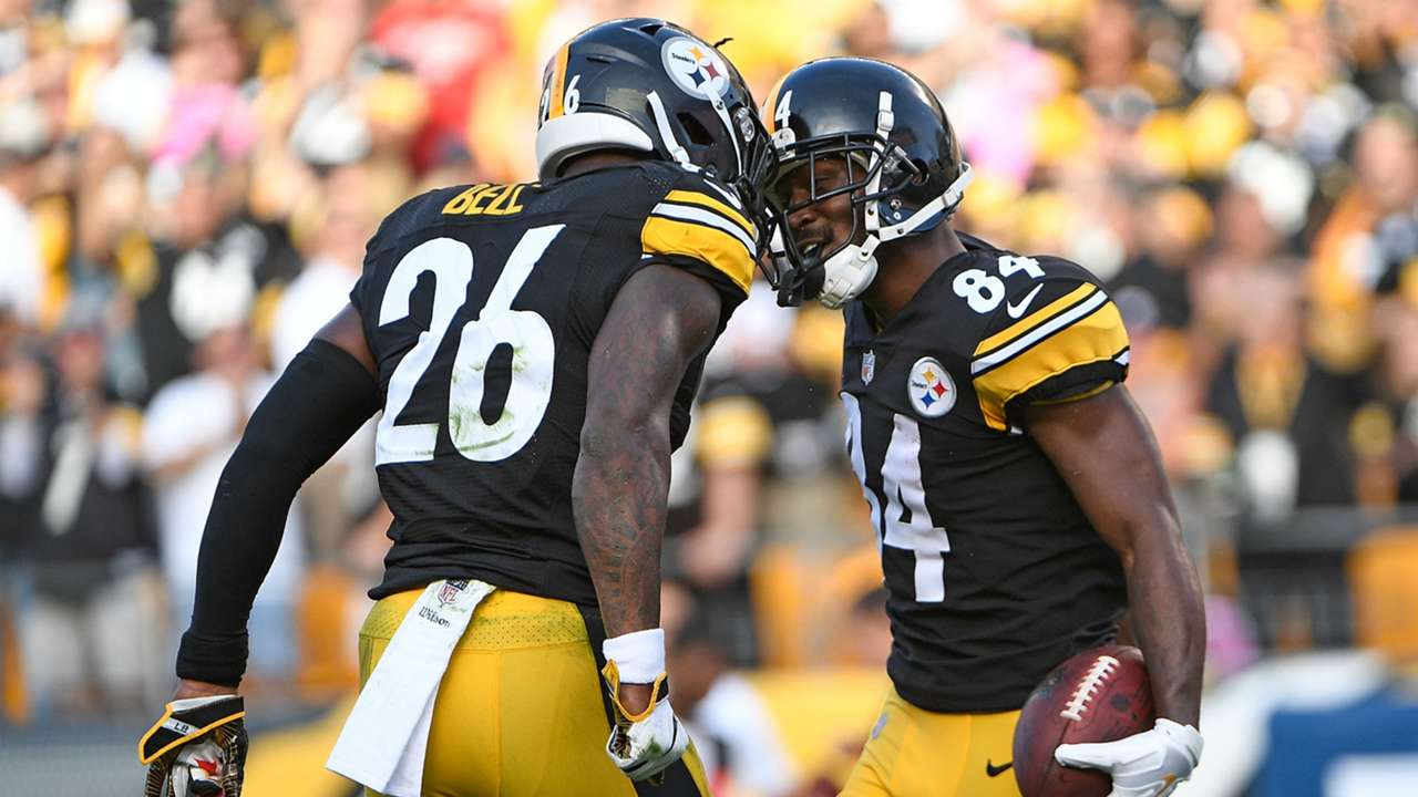 Antonio Brown,  Le'Veon Bell