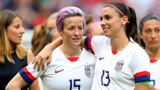 Megan Rapinoe and Alex Morgan - cropped