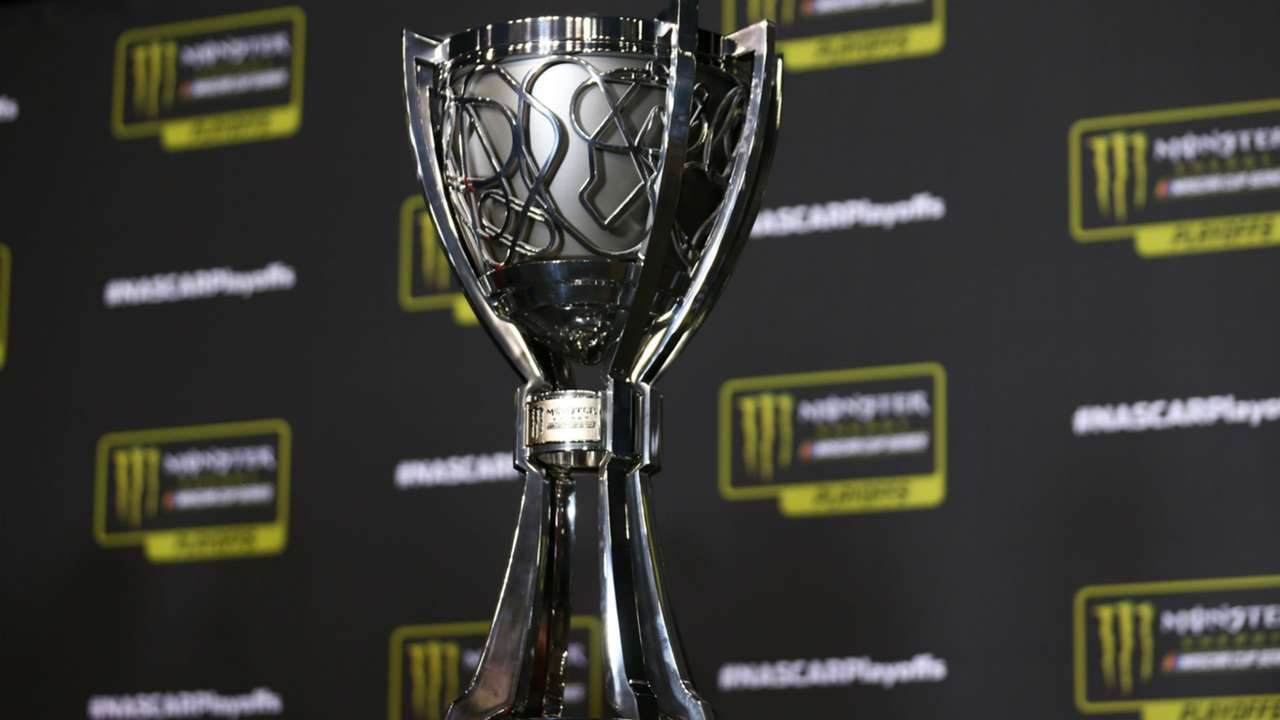 NASCAR championship trophy