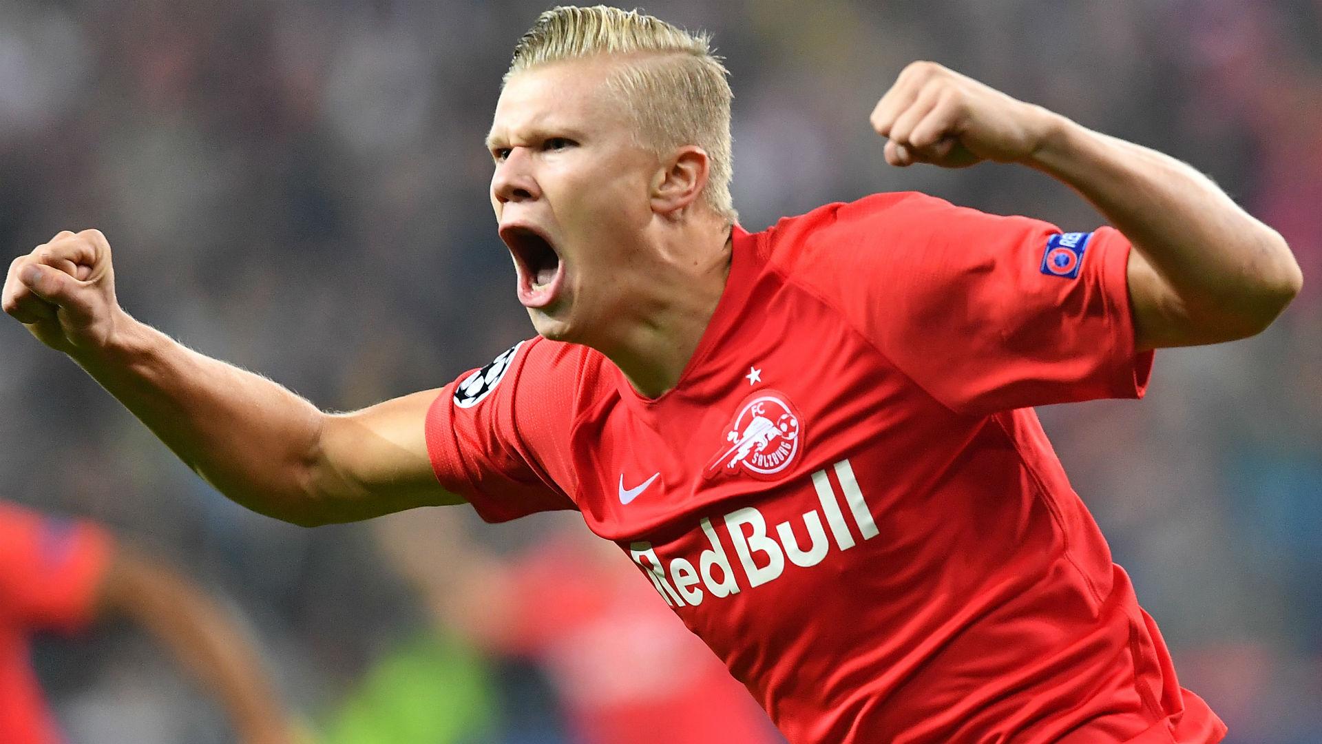 Erling Haaland: RB Salzburg wonderkid breaks Kylian Mbappe and Raul