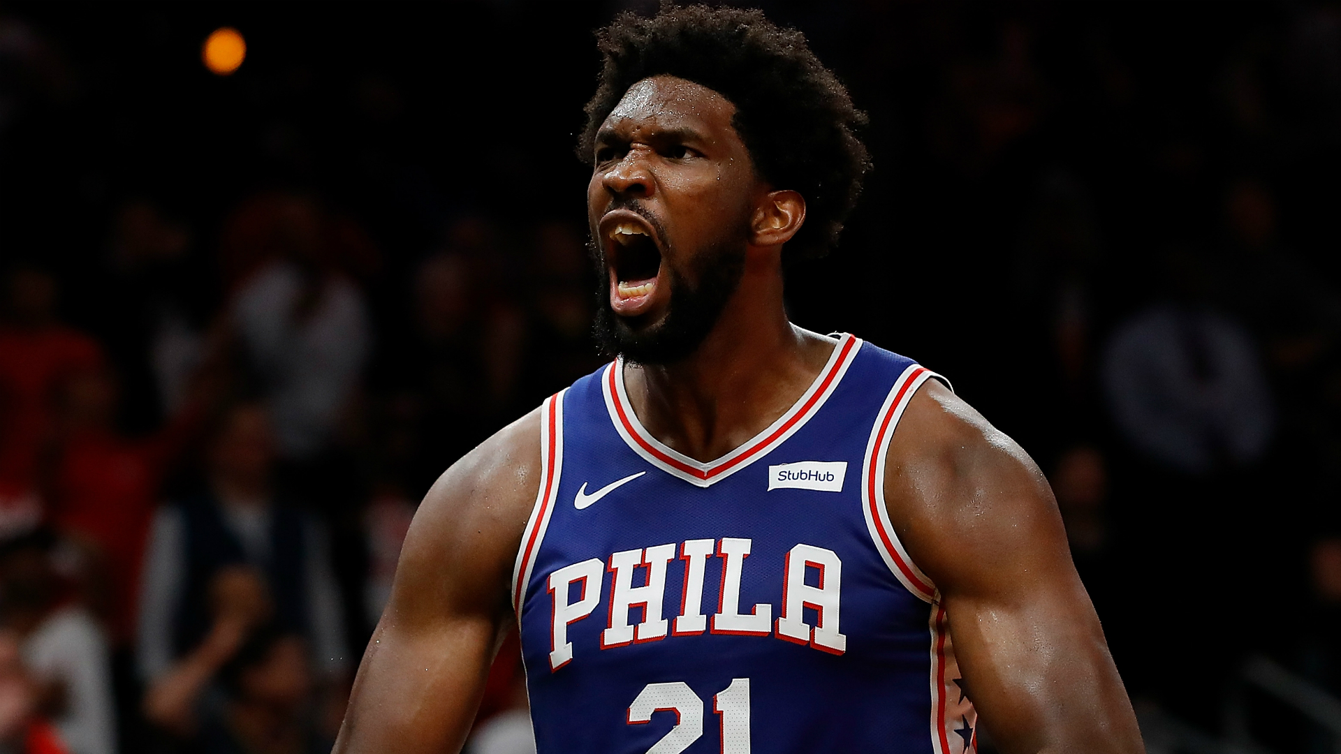 76ers star Joel Embiid on his motivation: 'I'm trying to win a f—ing title'