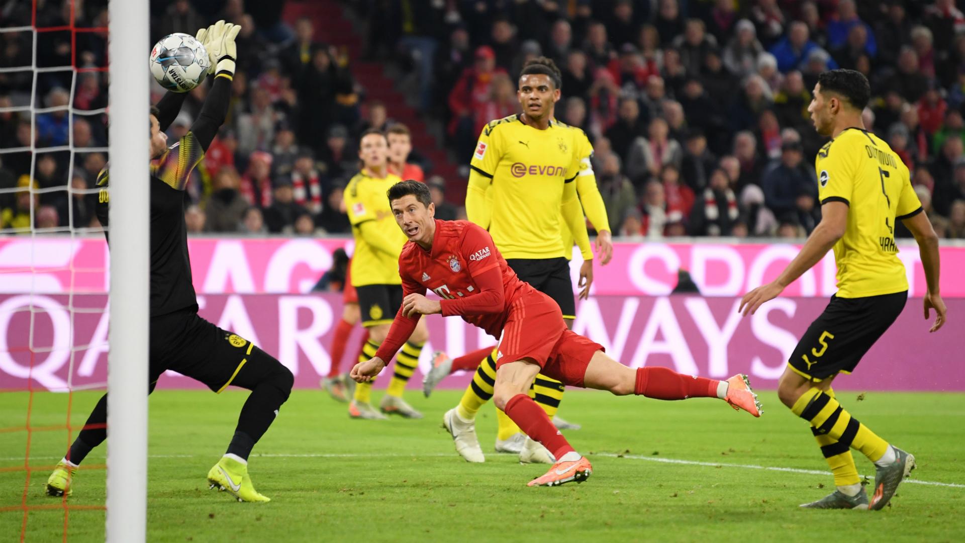 Bayern München v Borussia Dortmund Match Report, 09/11/2019 ...
