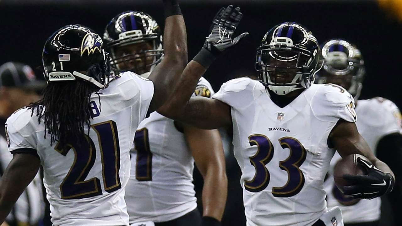 Ravens safety Will Hill