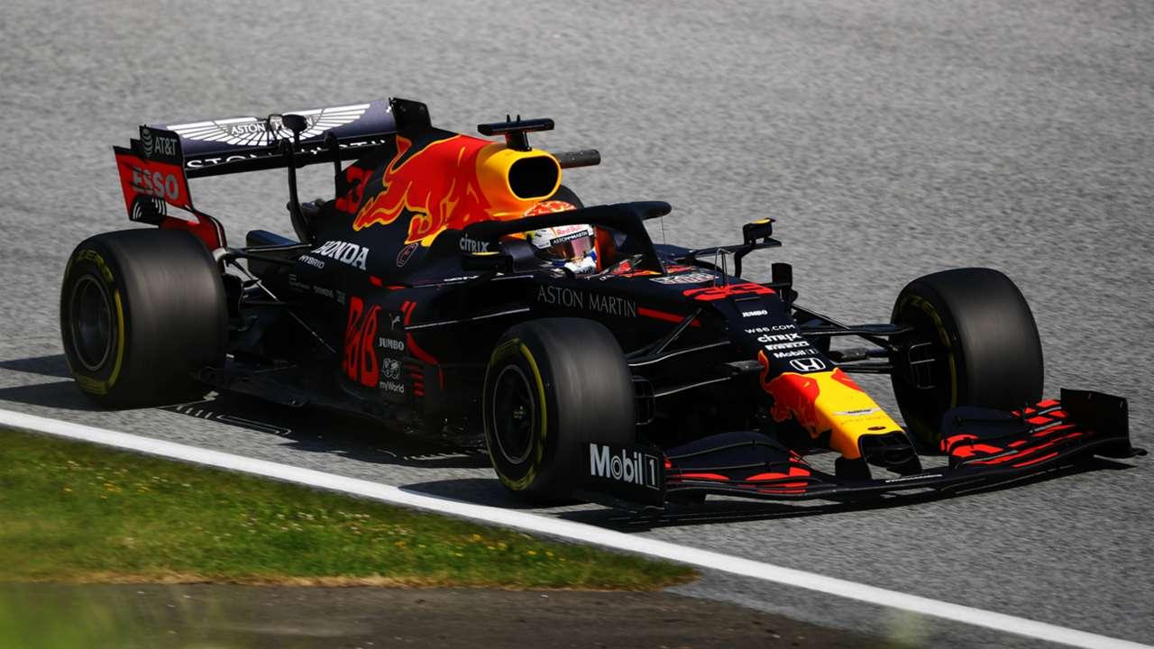 Max Verstappen's Red Bull - cropped