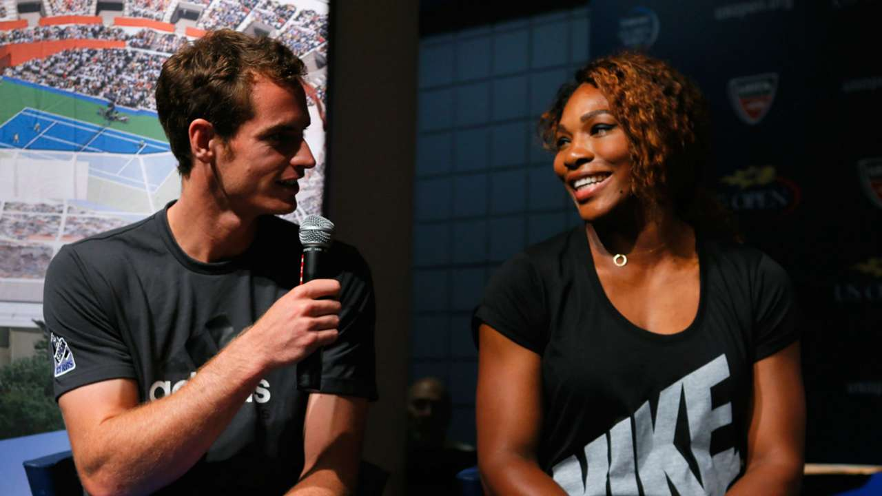 Andy Murray Serena Williams - cropped