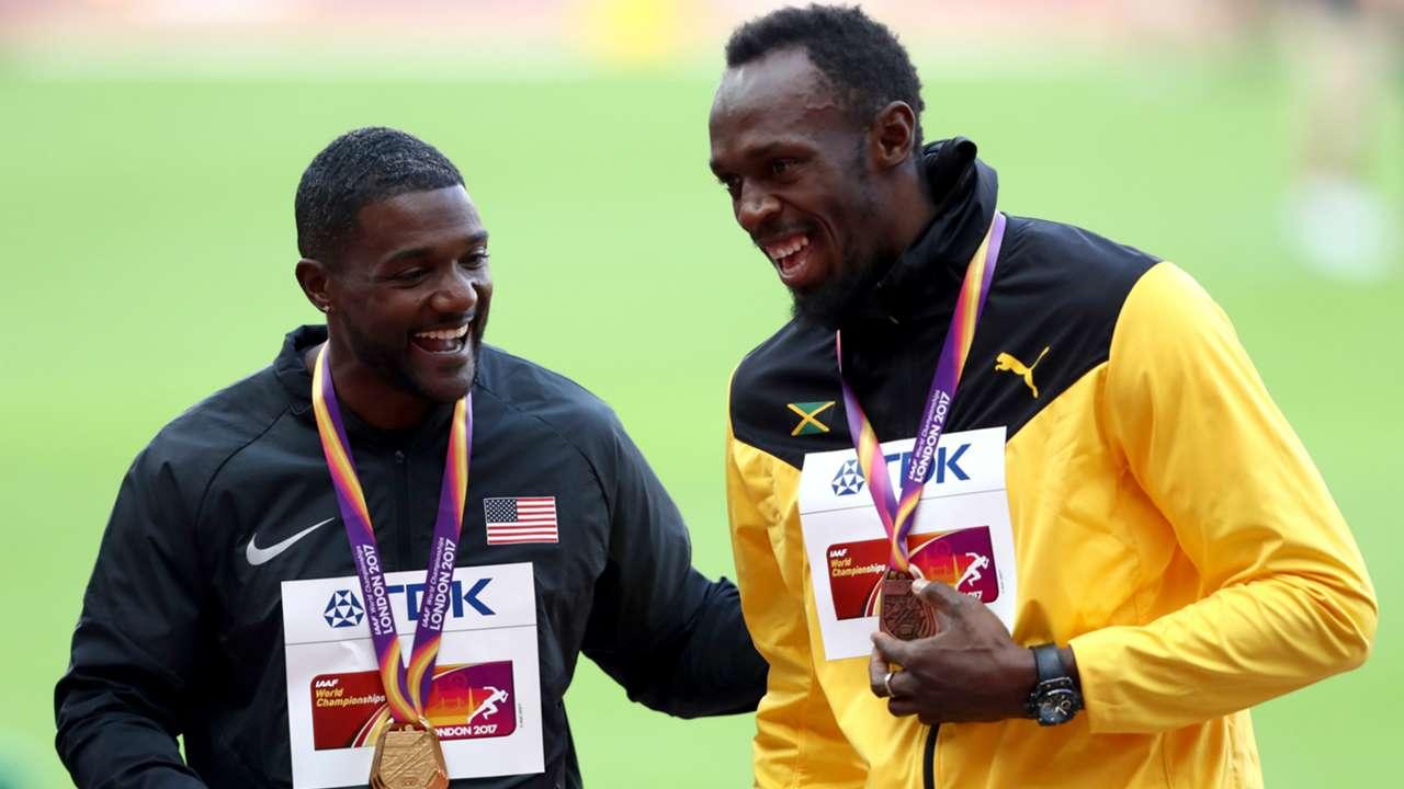 Justin Gatlin and Usain Bolt - cropped