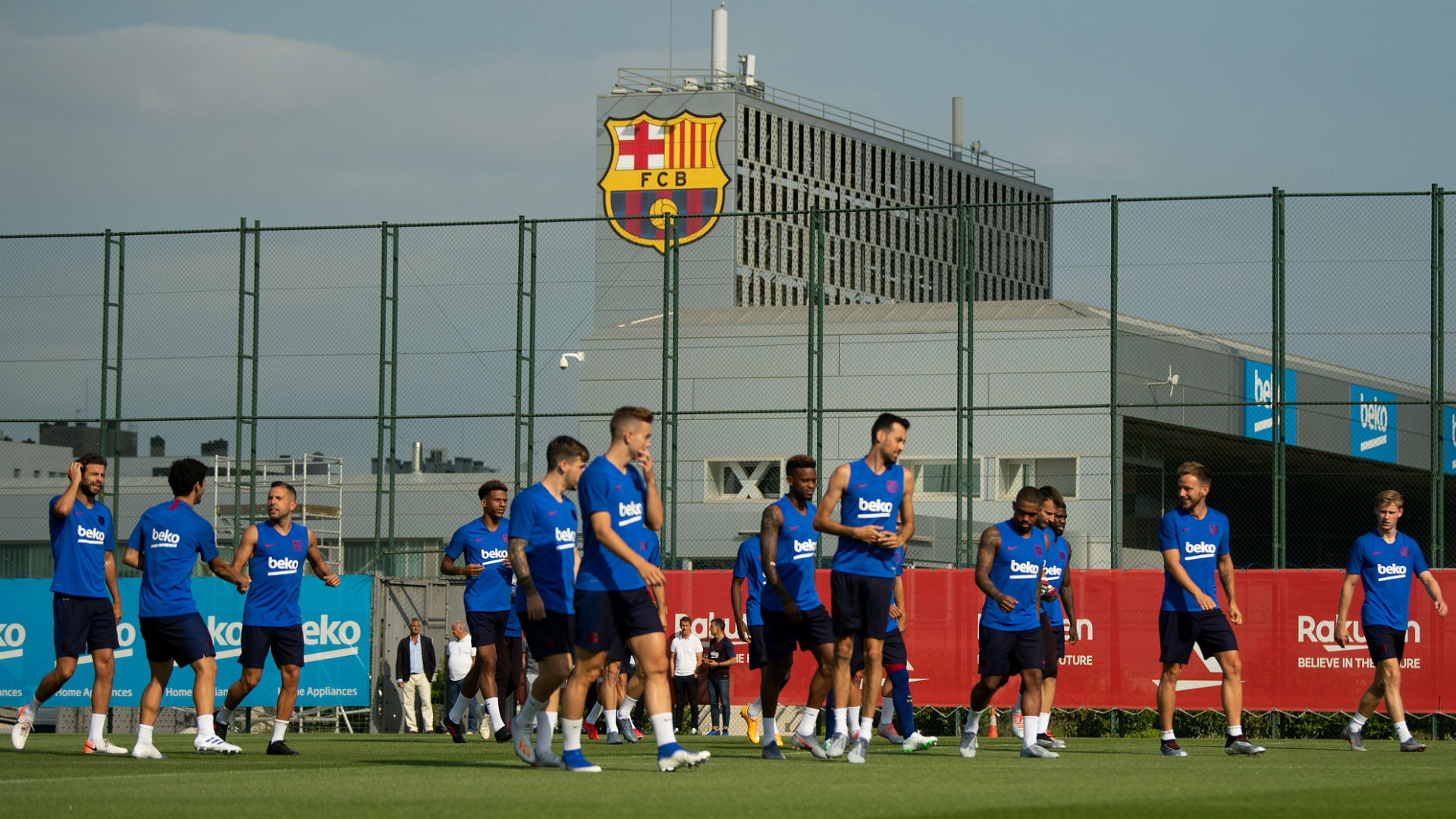 Barcelona confirm return to individual training from Friday after ...