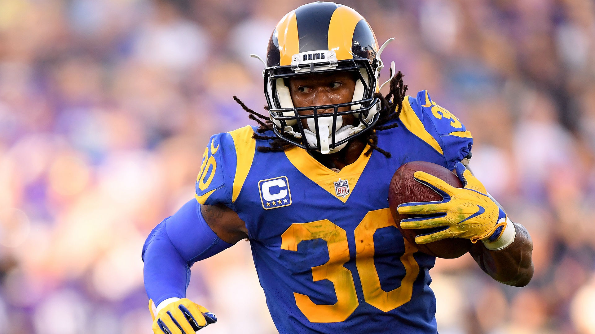 Will Rams Todd Gurley Be Limited Against Panthers Nope Sean Mcvay Says Sporting News