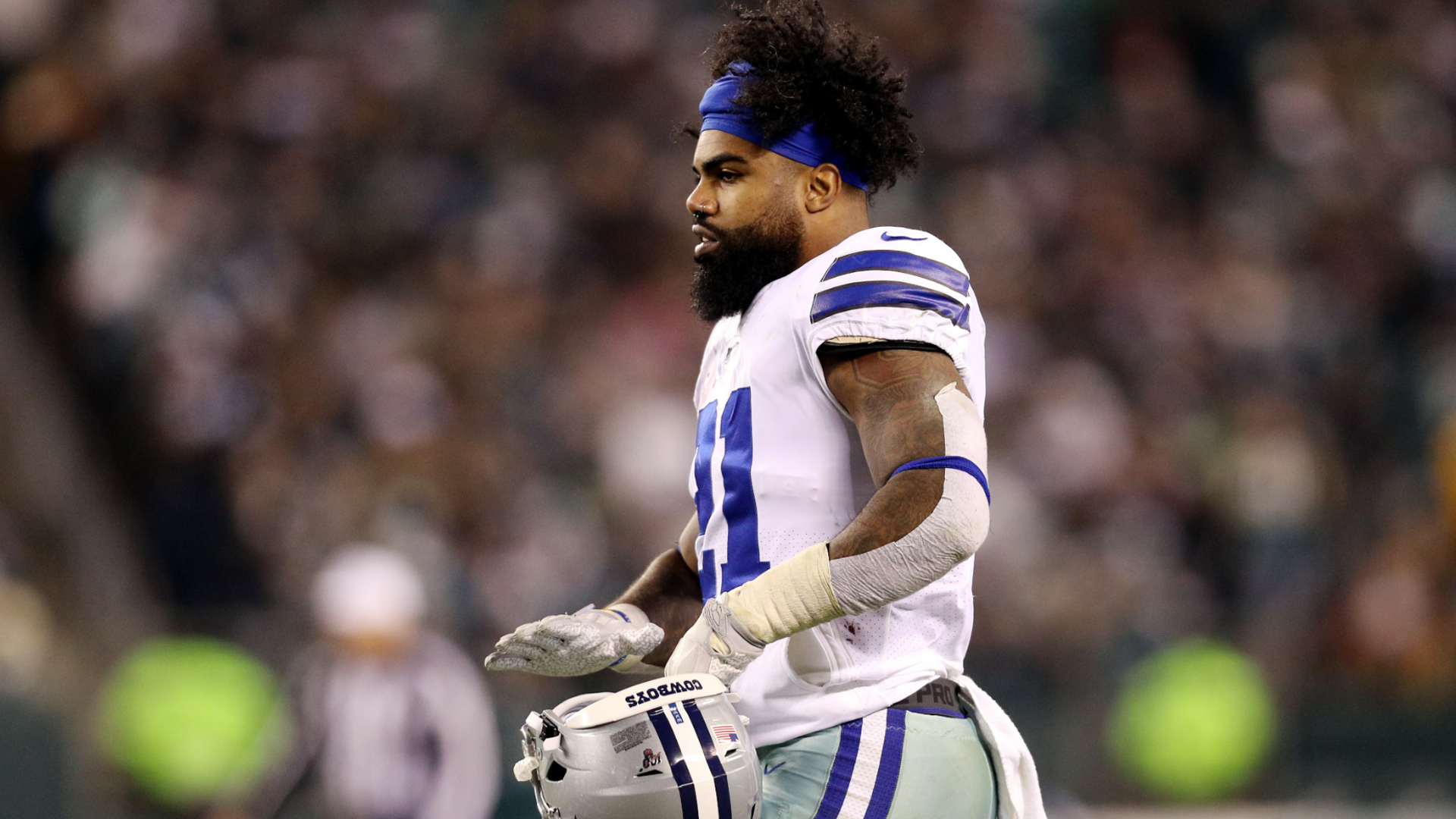 Cowboys' Ezekiel Elliott close to workout return after COVID-19 diagnosis