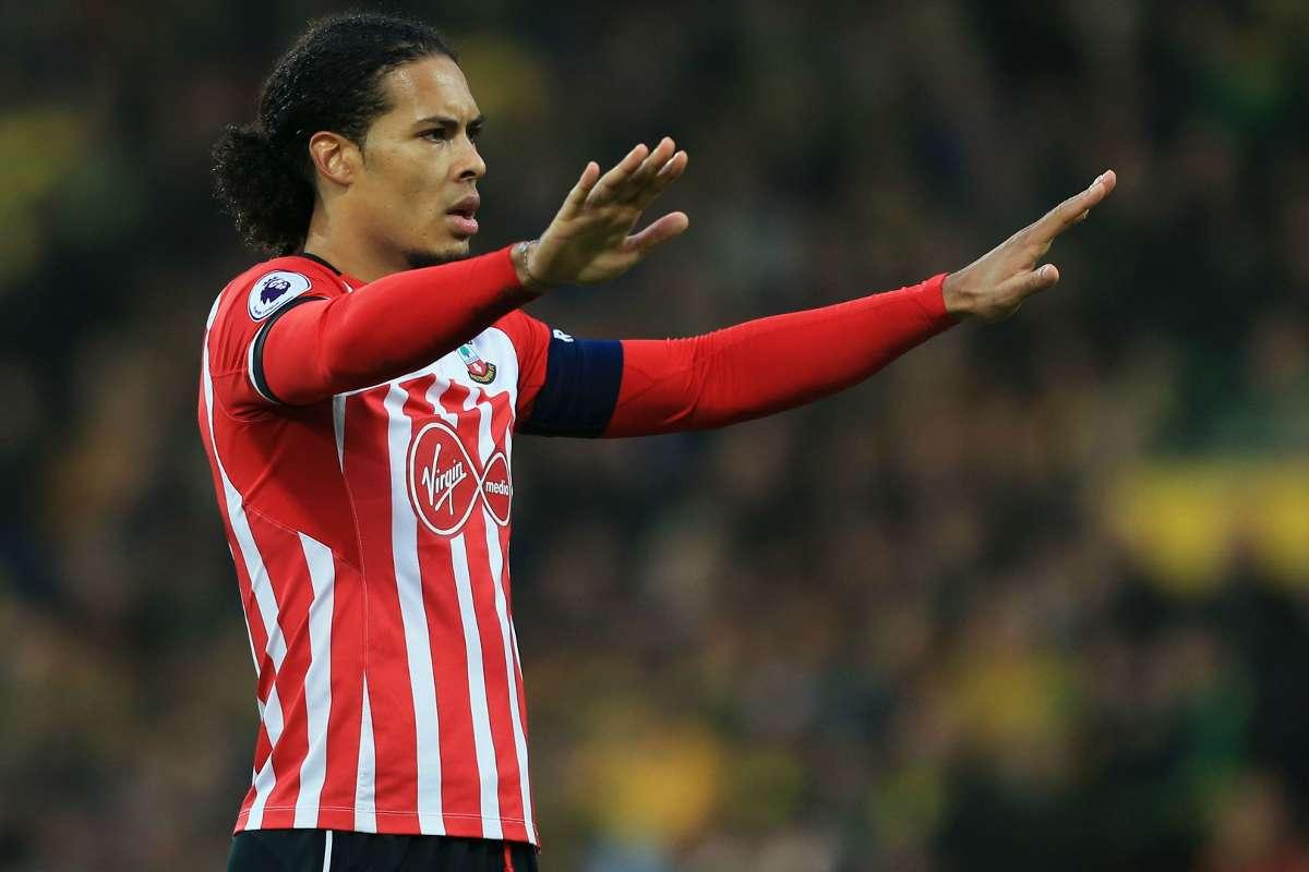 Van Dijk Transfer Pellegrino Expects Defender To Stay At Southampton Goal Com