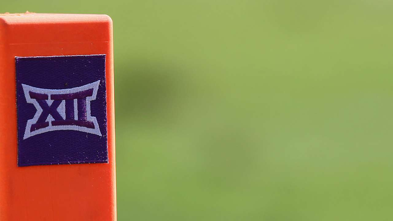 Big 12 football pylon