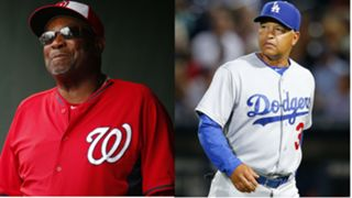 Dusty Baker, Dave Roberts