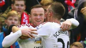 Wayne Rooney and Morgan Schneiderlin