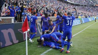 FC Cincinnati celebrate - Cropped