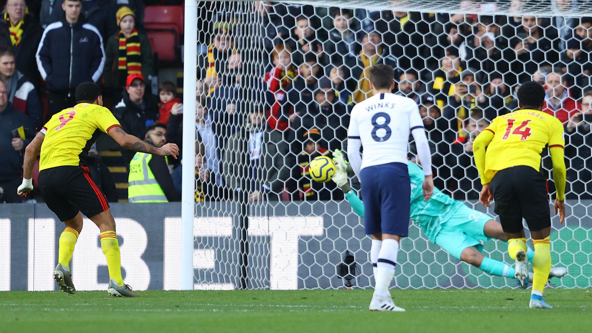 Watford 0-0 Tottenham: Gazzaniga rescues Spurs in drab draw