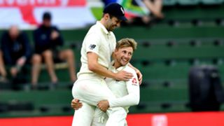 Mark Wood and Joe Root - cropped