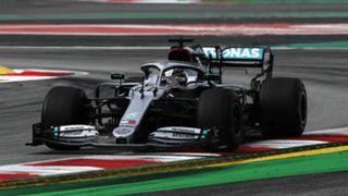 Mercedes' Lewis Hamilton - cropped