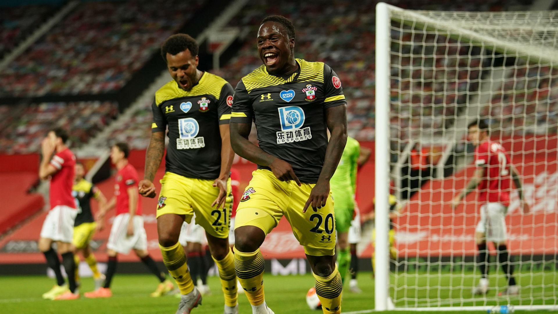 Manchester United V Southampton Match Report 13 07 2020 Premier League Goal Com