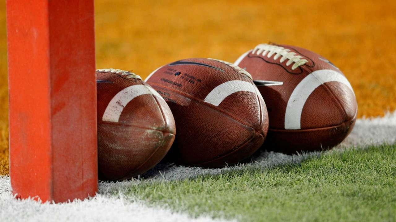 NCAA footballs