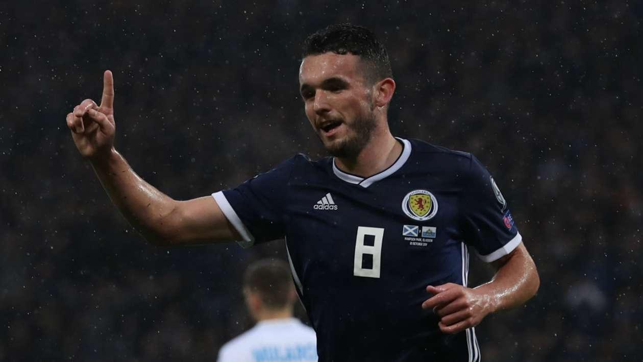 EC 2020 Qualification Report: Scotland 6-0 San Marino - McGinn treble eases pressure on Clarke