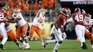 Clemson quarterback Trevor Lawrence challenges Alabama