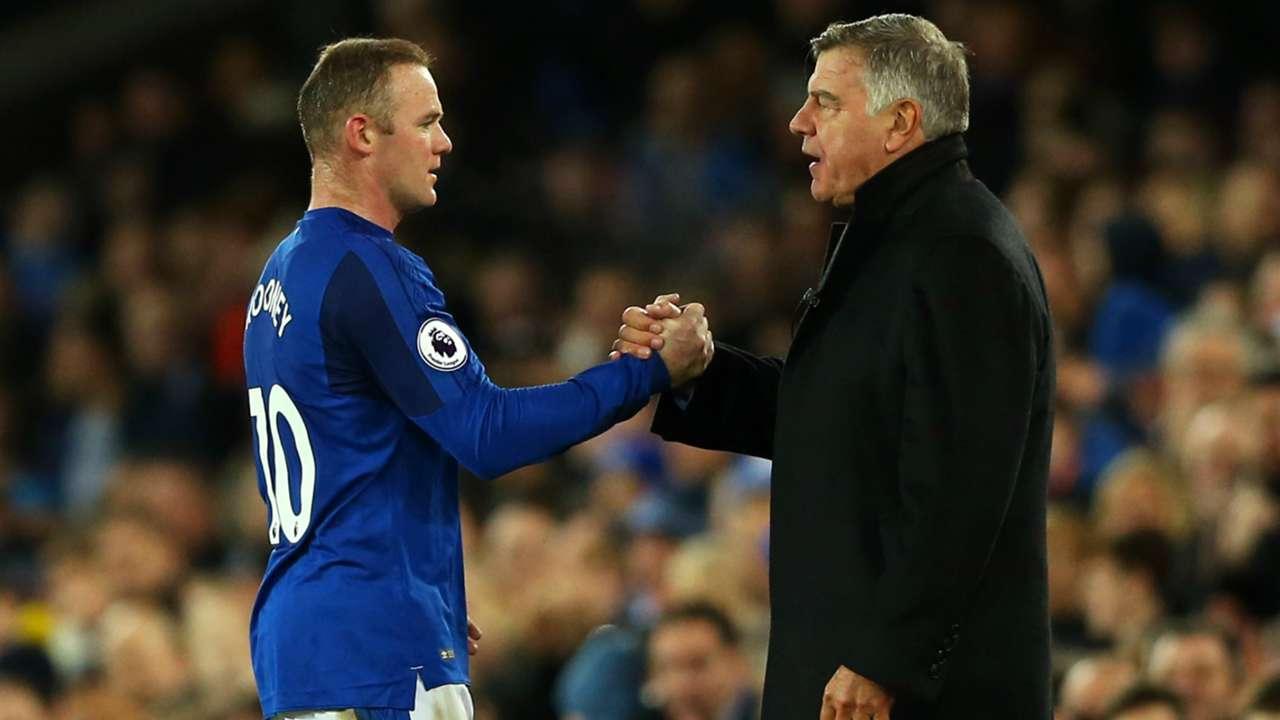 Wayne Rooney and Sam Allardyce - cropped